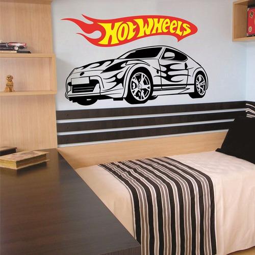 adesivo decorativo carro hot wheels (165x095)cm