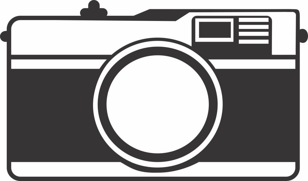 Adesivo Decorativo De Camera Fotografica Antiga Retro R 39 00