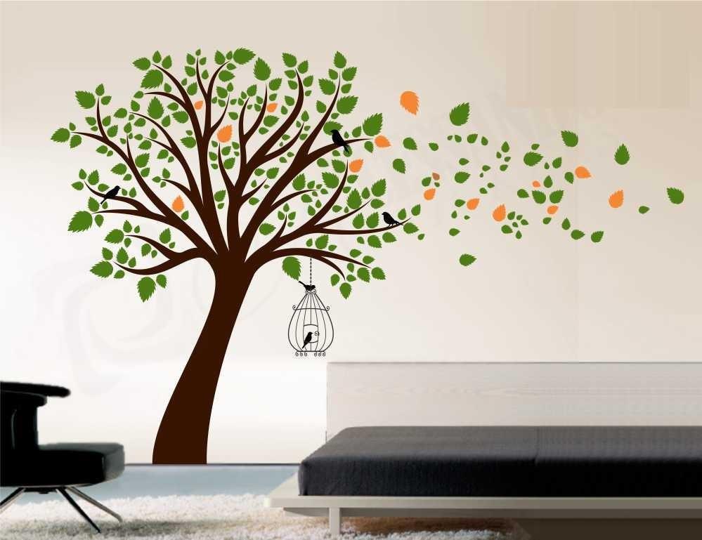 Aparador Em Mdf ~ Adesivo Decorativo De Parede Arvores Flores Porta Retrato R$ 120,38 em Mercado Livre