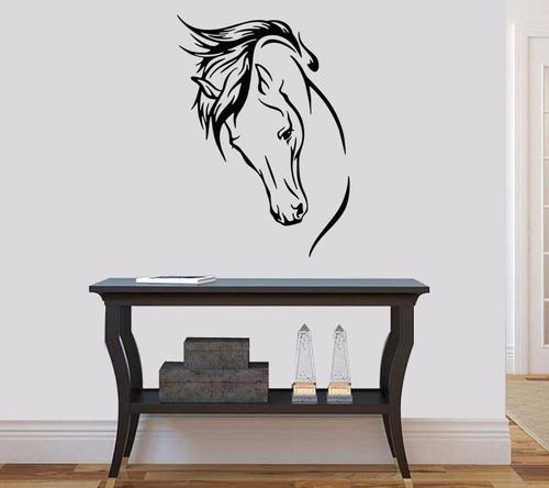 adesivo decorativo de parede cavalo 50x70 cm