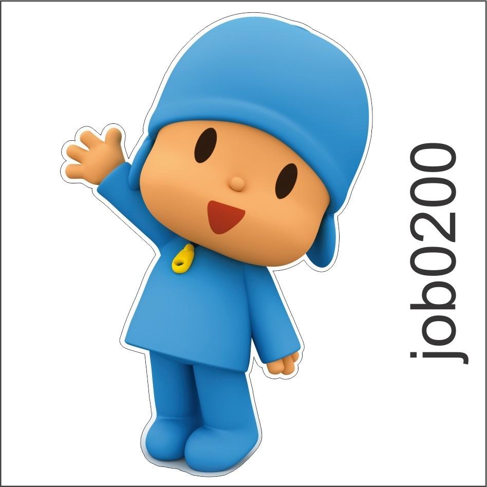 Armario Ikea Pax Roble ~ Adesivo Decorativo De Parede Desenho Infantil Pocoyo Job0200 R$ 64,99 em Mercado Livre