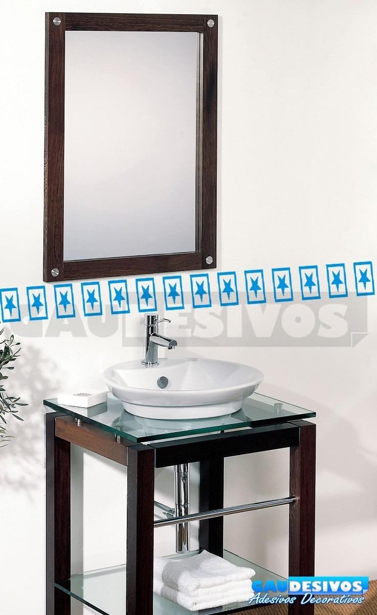 Armario Mdf Quarto ~ Adesivo Decorativo De Parede Faixa Border Azulejo Banheiro R$ 9,99 em Mercado Livre