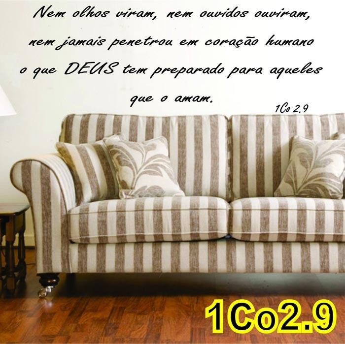 Adesivos Decorativos De Parede Mandalas ~ Adesivo Decorativo De Parede Frases Bíblicas 1co2 9 R$ 48,60 em Mercado Livre