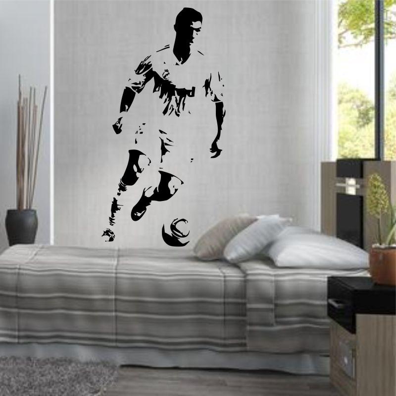 Armario Sinonimo De Arca ~ Adesivo Decorativo De Parede Futebol Cr7 Cristiano Ronaldo R$ 99,08 em Mercado Livre