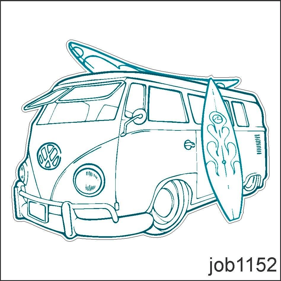 Armario Joyero Pared Ikea ~ Adesivo Decorativo De Parede Volwsvagem Kombi Surf Job1152 R$ 63,70 em Mercado Livre
