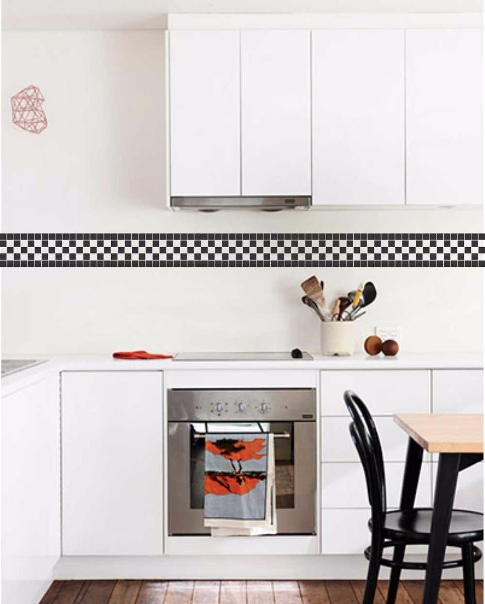 3fcceeed0 adesivo decorativo de pastilhas faixas p  banheiro e cozinha. Carregando  zoom.