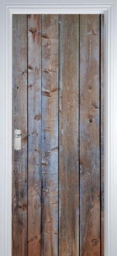 adesivo decorativo de porta - texturas madeira 8