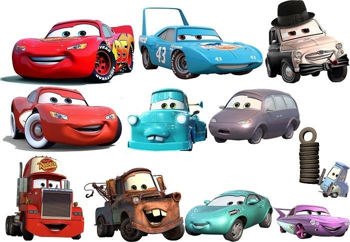 Adesivo Decorativo Desenho Carros Cars R 24 91 Em Mercado Livre