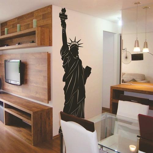 adesivo decorativo estatua da liberdade (060x180)cm