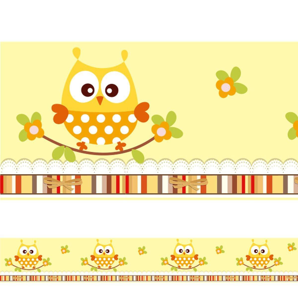 0d0ee4d04 adesivo decorativo faixa infantil coruja corujinha com flore. Carregando  zoom.