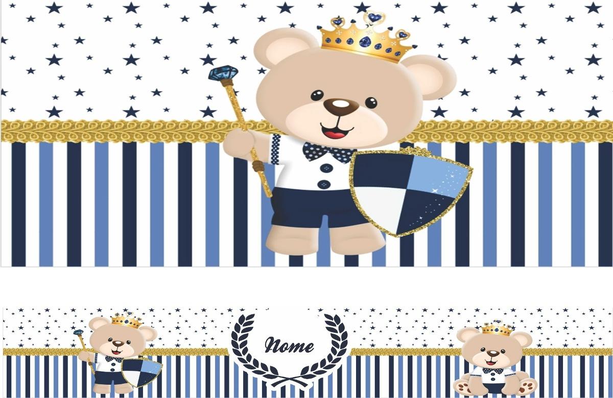 Armario Hemnes Amarillo ~ Adesivo Decorativo Faixa Infantil Urso Príncipe Azul R$ 14,80 em Mercado Livre