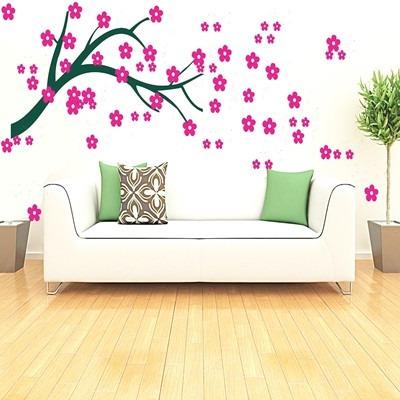 adesivo decorativo flor de cerejeira