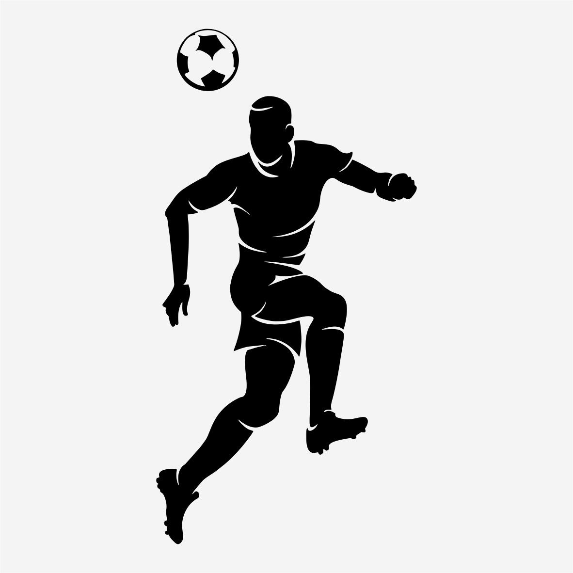 Armario Sinonimo De Arca ~ Adesivo Decorativo Futebol Esporte Jogador Bola 80cm A655 R$ 19,99 em Mercado Livre