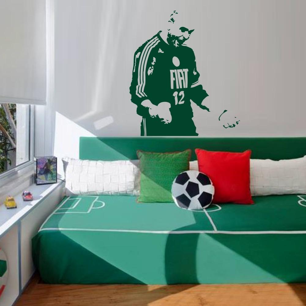 59317076d adesivo decorativo futebol goleiro marcos palmeiras preto. Carregando zoom.