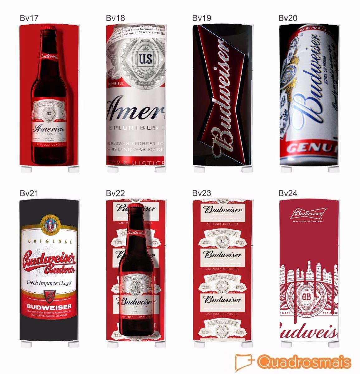 Artesãos Sinonimo ~ Adesivo Decorativo Geladeira Budweiser Heineken R$ 67,00 em Mercado Livre