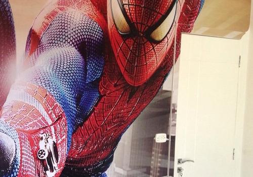 adesivo decorativo homem aranha