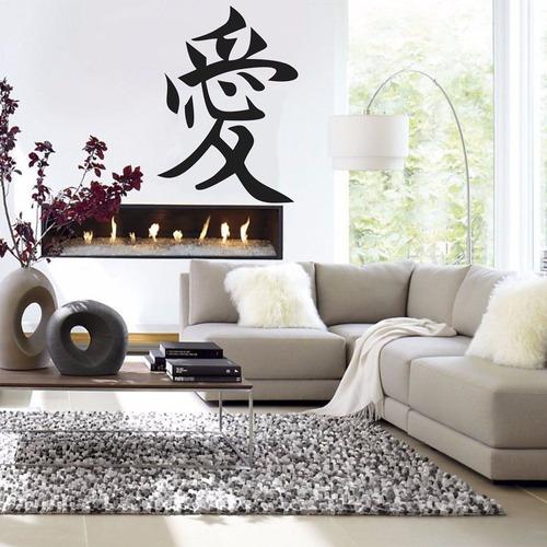 adesivo decorativo ideograma amor (095x125)cm
