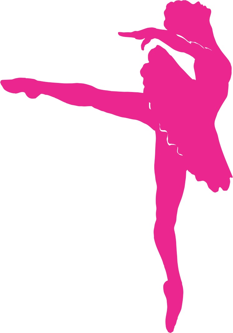 Adesivo Decorativo Infantil Feminino Bale Ballet 86cm A426 R 21