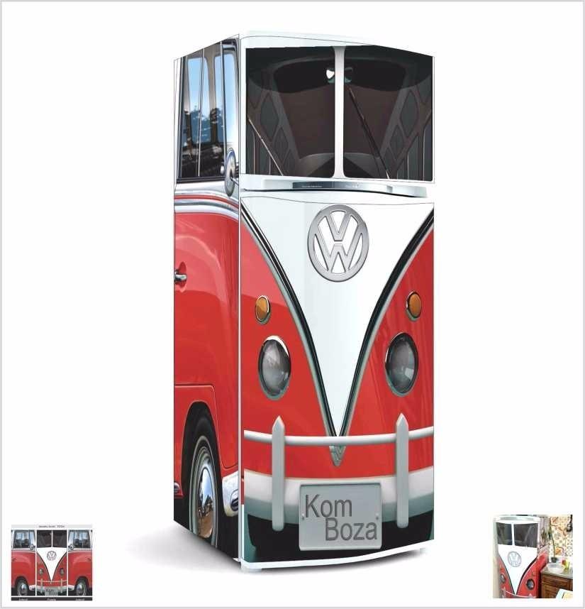 Adesivo Kombi Geladeira ~ Adesivo Decorativo Kombi P Geladeira Freezer Cooler Cerveje R$ 197,00 em Mercado Livre