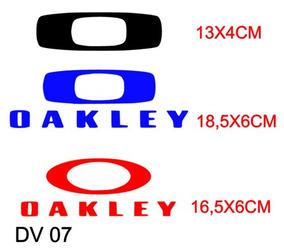 7eb7832f5 Adesivo Oakley Grande Vidro De Carro no Mercado Livre Brasil