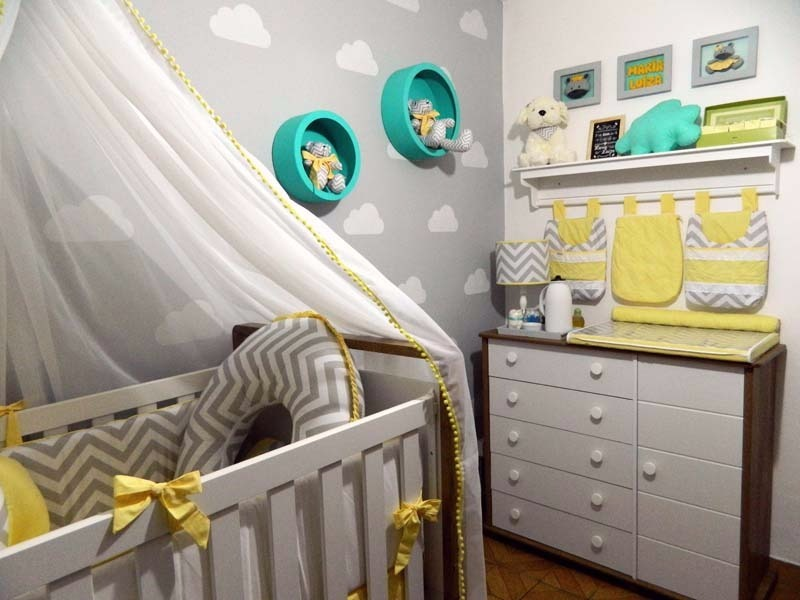 Adesivo Decorativo Nuvens Quarto Bebe Berço Crianca 48 Unid R 39