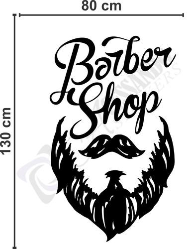 Armario Ikea Aneboda ~ Adesivo Decorativo Papel Parede Barbearia Homem Promoç u00e3o R$ 119,38 em Mercado Livre