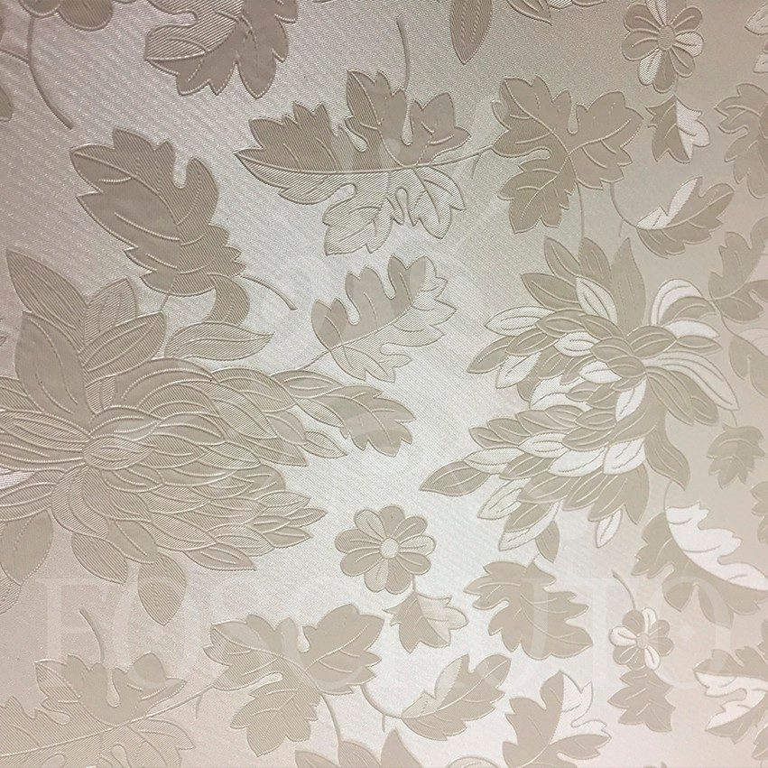 Adesivo decorativo papel parede floral bege 3d 1m x 60cm for Papel de pared negro