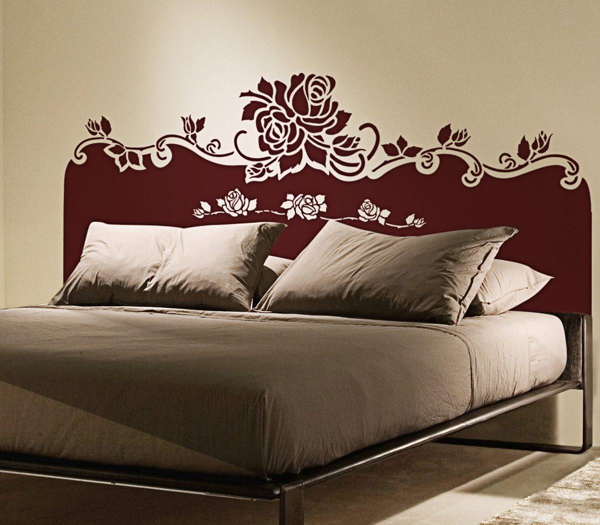 Ideias Artesanato Decoração ~ Adesivo Decorativo Para Cabeceira De Cama 58cm X 146cm R$ 62,00 em Mercado Livre