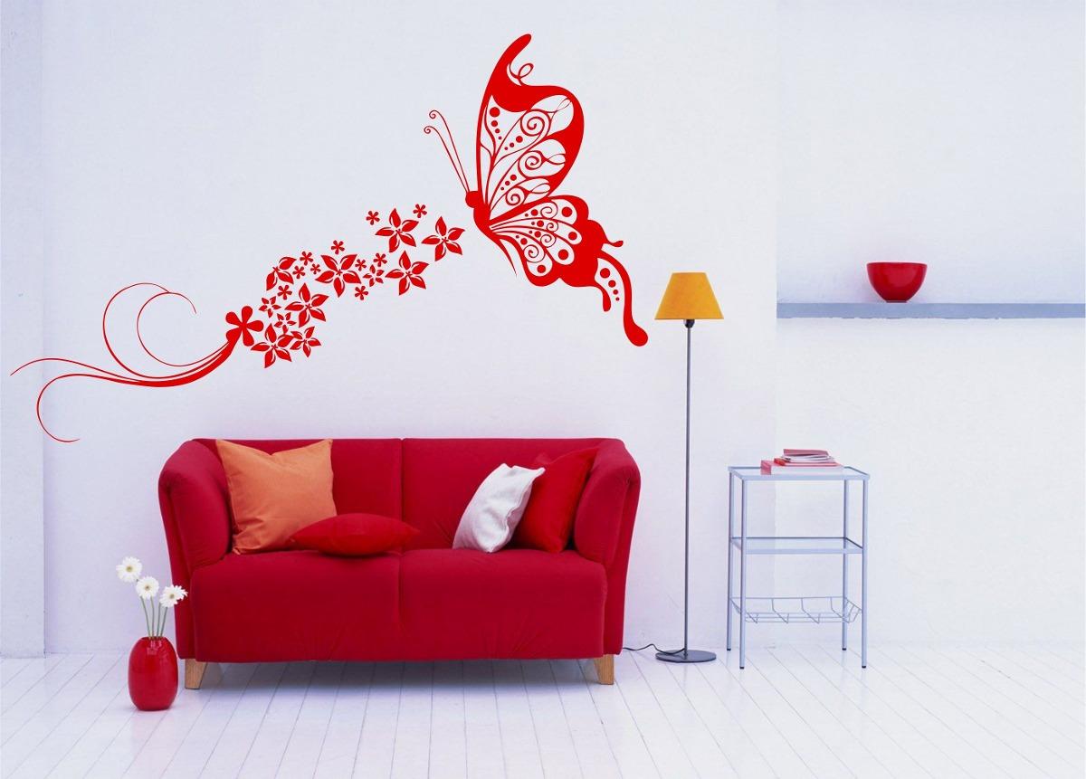 Aparador Verde Envejecido ~ Adesivo Decorativo Parede Borboleta Floral Flores Faixa R$ 24,99 em Mercado Livre