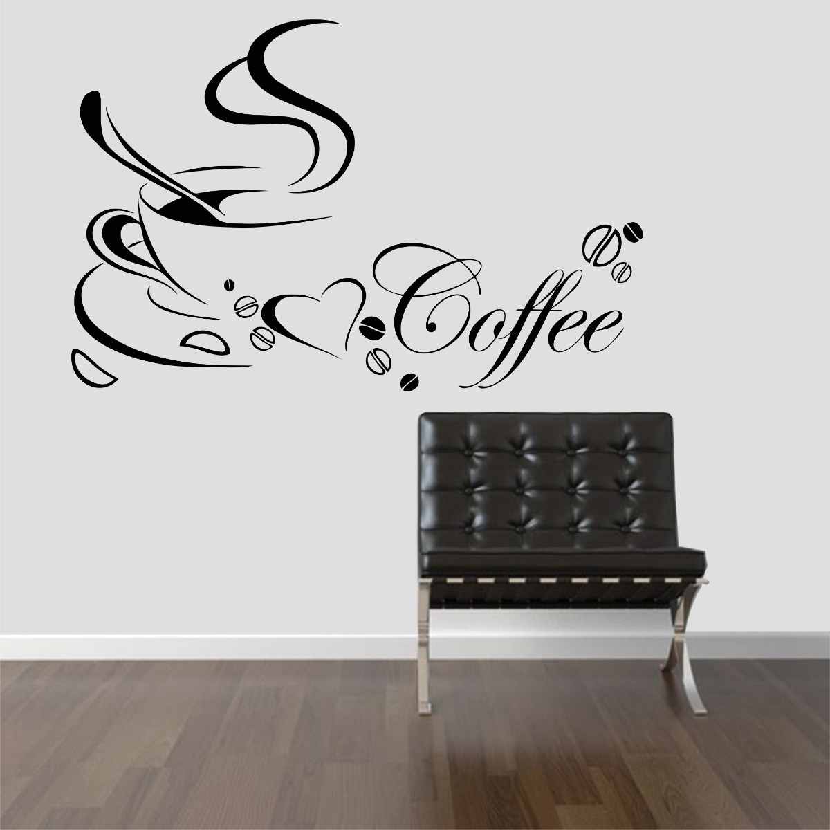 Adesivo De Parede Coruja ~ Adesivo Decorativo Parede Cozinha Geladeira Café Xícara R$ 29,99 em Mercado Livre