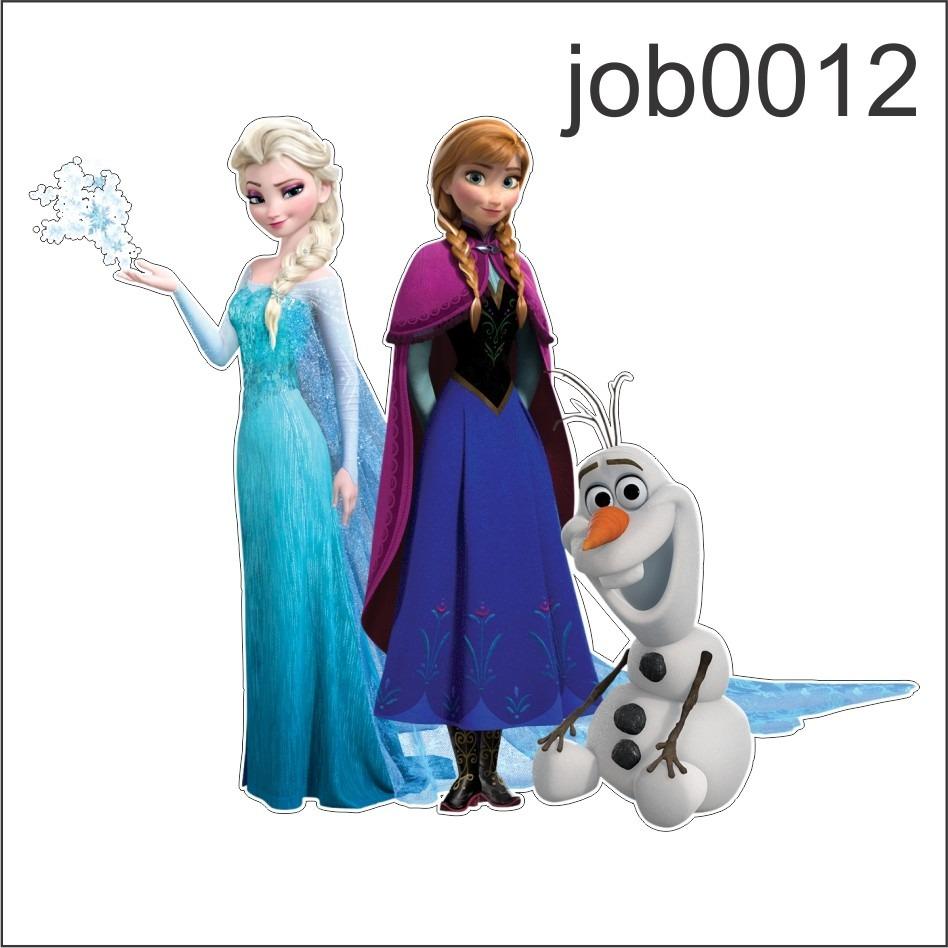 Aparador Moderno Branco ~ Adesivo Decorativo Parede Frozen Elsa Olaf Anna Job0012