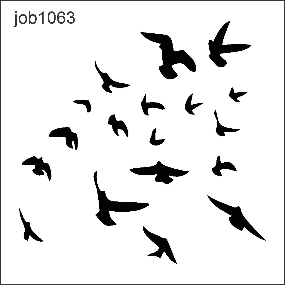 adesivo decorativo parede p u00e1ssaros voando passarinho bird flying clipart bird flying clipart
