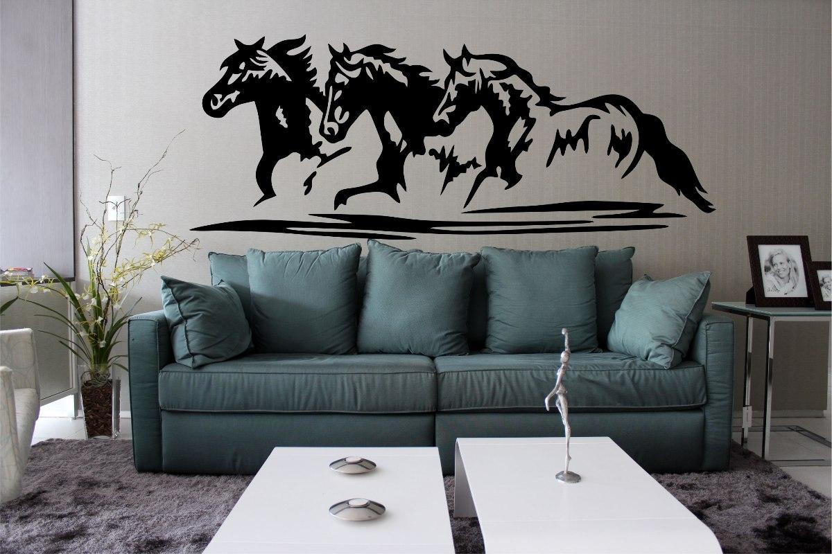 adesivo decorativo parede quarto sala cavalo cowboy rodeio. Carregando zoom. a5e8038c39f