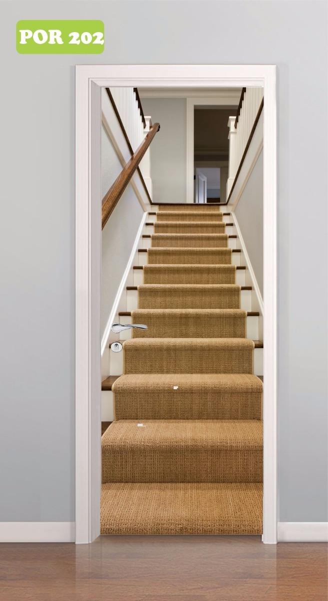 Adesivo De Parede Mapa Mundi Infantil ~ Adesivo Decorativo Porta Escada Escadaria De Madeira Mod 202 R$ 59,90 em Mercado Livre