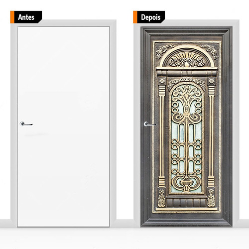 adesivo decorativo porta textura madeira pex04