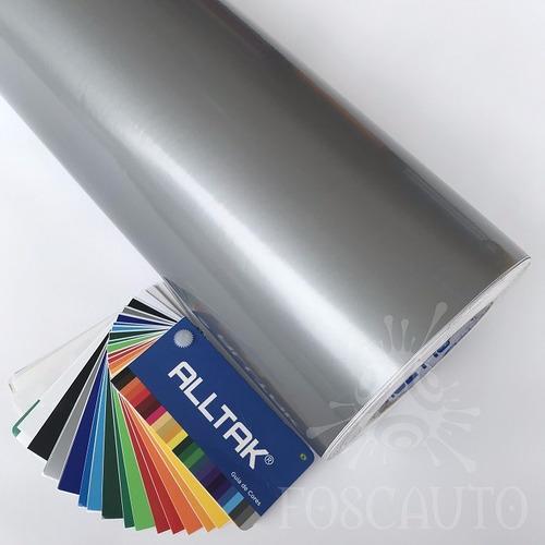 adesivo decorativo prata tipo inox geladeira móveis armários