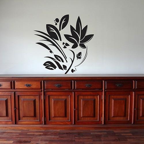 adesivo decorativo selva (50x50)cm - frete grátis