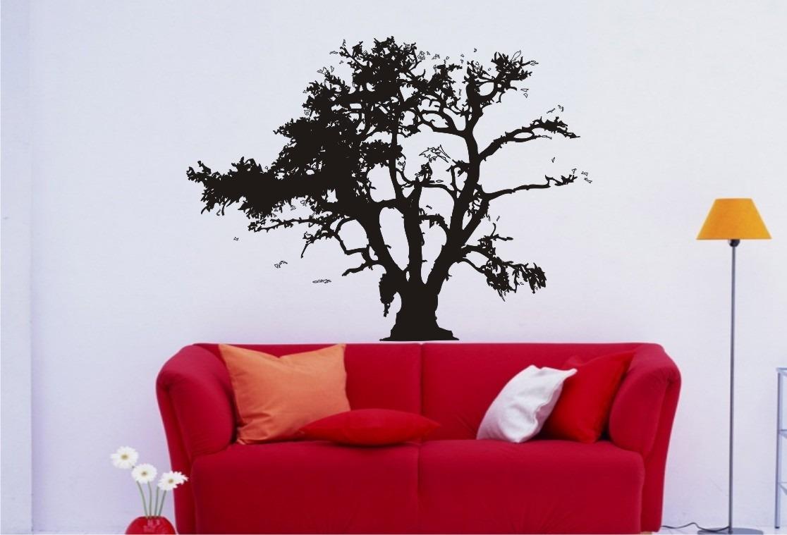 Aparador De Livros Em Ingles ~ Adesivo Decorativos De ParedeÁrvores Galhos Bambu Natureza R$ 38,67 em Mercado Livre