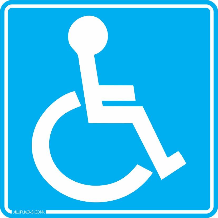 Adesivo Deficiente Fisico ~ Adesivo Deficiente Físico Cadeirante Para Carro Frete Fixo R$ 4,89 em Mercado Livre