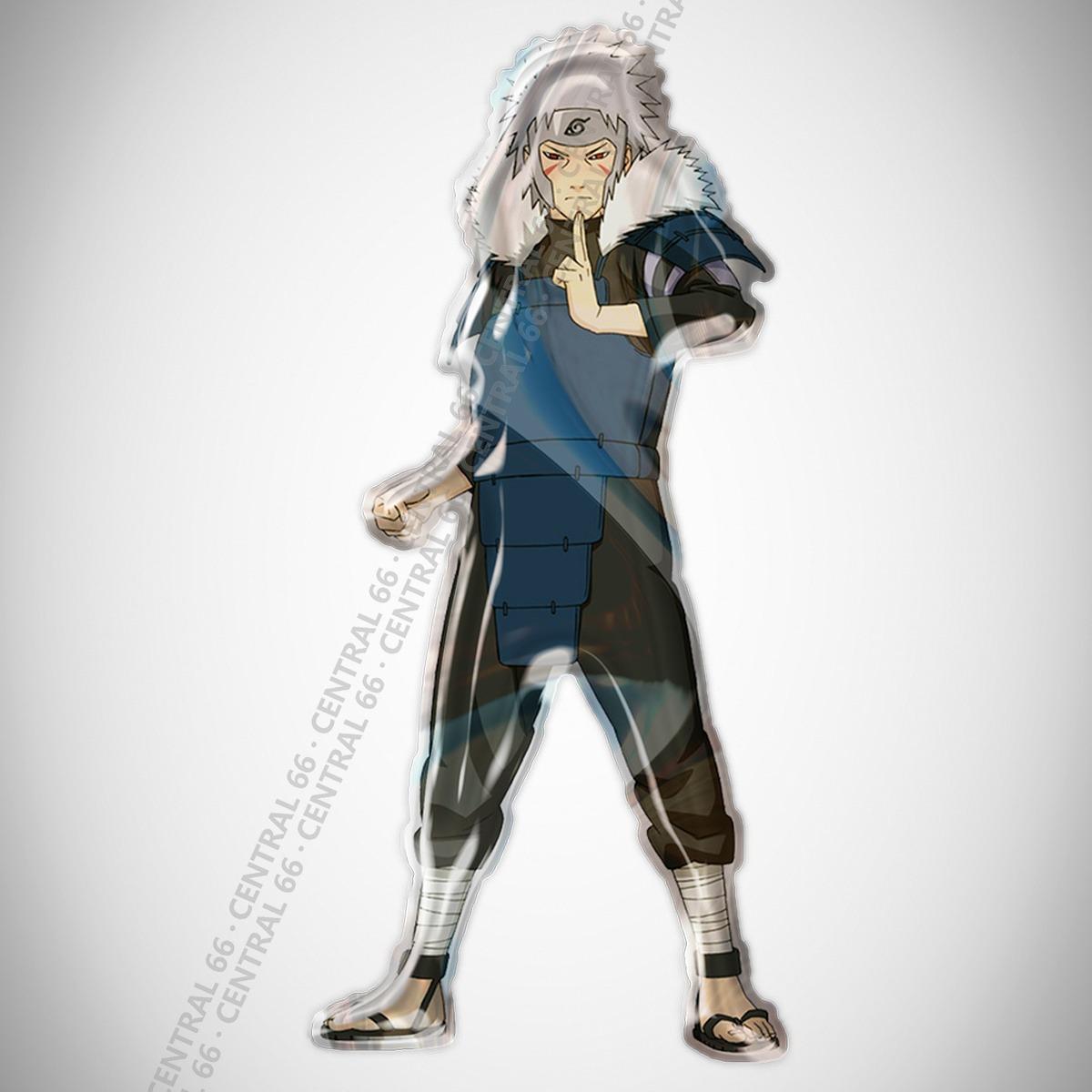 Adesivo Desenho Naruto 2 Hokage Resinado Carregando Zoom