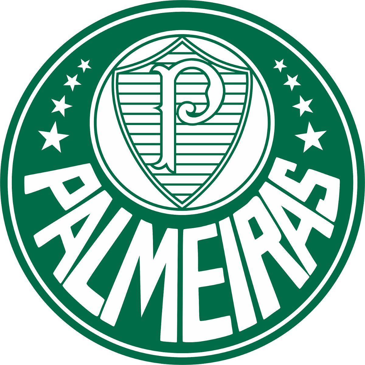 Adesivo Do Palmeiras Escudo Com Fundo 48cmx48cm Casa R
