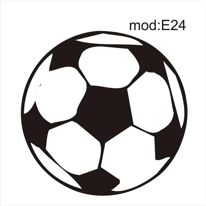 Adesivo E24 Bola Gol Redonda Futebol Adesivo Decorativo - R  106 090f03516f509