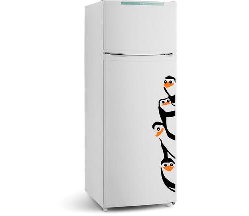 adesivo em vinil pinguins de madagascar