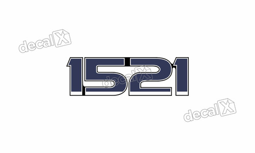 adesivo emblema resinado ford 1521 cm13