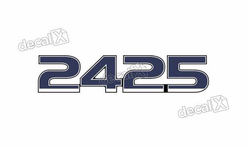 adesivo emblema resinado ford 2425 cm23