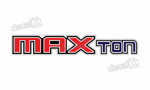 adesivo emblema resinado ford max ton cm41