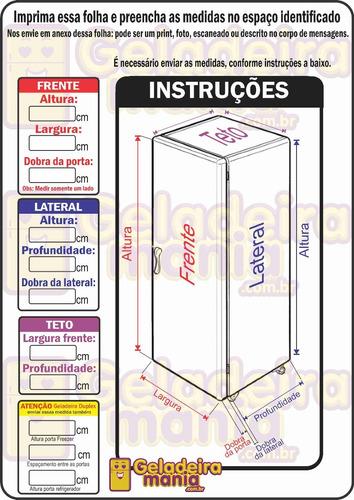 adesivo envelopamento geladeira jd0139 jack daniels coronel