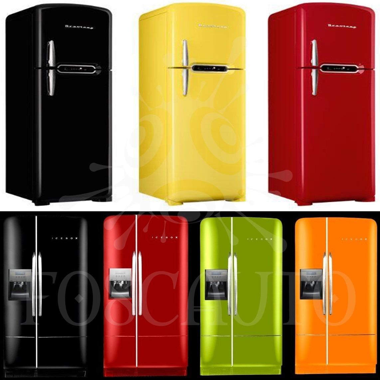 Armario Planejado Cozinha ~ Adesivo Envelopamento Geladeira Móveis Fog u00e3o Porta 10mx1m R$ 190,00 em Mercado Livre