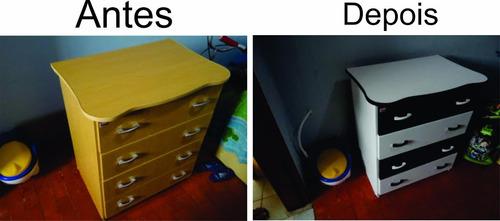 adesivo envelopar armário geladeira notebook porta + barato
