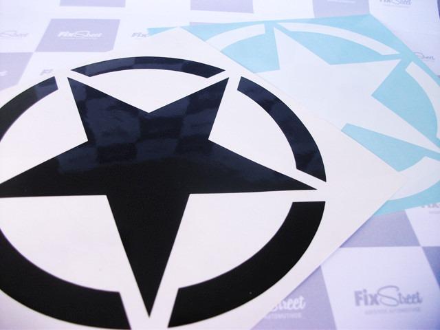 Adesivo De Flor ~ Adesivo Estrela Militar Redonda Para Tanque Moto R$ 9,90 em Mercado Livre